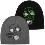 Green Day Gas Mask Reversible Beanie