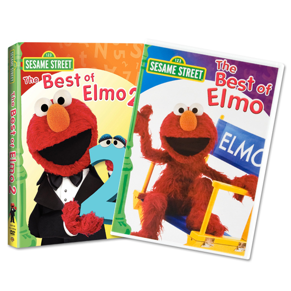 Pre-Order The Best of Elmo DVD Bundle