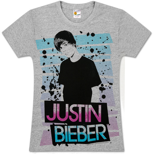 Justin Bieber Bars Girls' T-Shirt