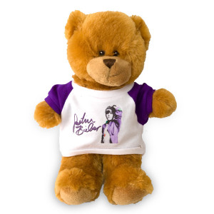 Justin Bieber Picture Tee Teddy Bear