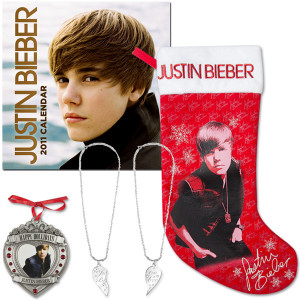 Justin Bieber 2010 Holiday Bundle #1