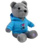 Pre-Order Justin Bieber Signature Plush Grey Bear