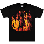 AC/DC - Highway To Hell Flames T-Shirt